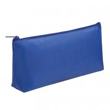 Пенал-косметичка ПИФАГОР на молнии, текстиль, синий, 19х4х9 см, код_1С, SWB-180059