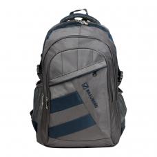 Рюкзак BRAUBERG 'MainStream 2', 35 л, размер 45х32х19 см, ткань, серо-синий, 224446
