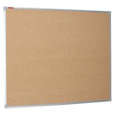 Доска пробковая для объявлений BOARDSYS 100х120 см, металлическая рамка, П*120