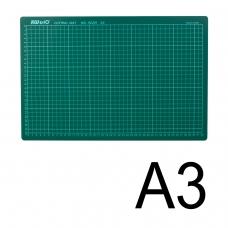 Коврик-подкладка настольный для резки KW-trio, А3 450х300 мм, толщина 3 мм, сантиметровая шкала, -9Z201