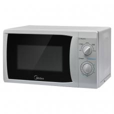 Микроволновая печь MIDEA MM720CFB объем 20 л, мощность 700 Вт, механическое управление, белая