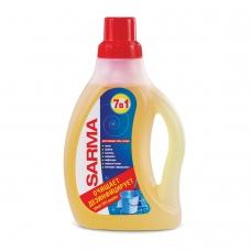 Средство для мытья пола 750 мл, SARMA Сарма Лимон, антибактериальное, концентрат, 9088