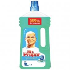 Средство для мытья пола и стен 1 л, MR.PROPER Мистер Пропер, Горный ручей и прохлада, MP-81519421