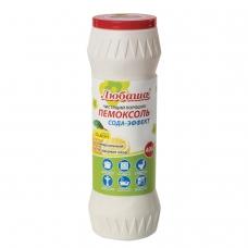 Чистящее средство 400 г, ПЕМОКСОЛЬ 'Лимон. Сода-эффект', порошок, ЛЮБАША