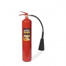 Огнетушитель углекислотный ОУ-5, ВСЕ жидкие, газообразные вещества, электроустановки, закачной, ЯРПОЖ, 52