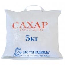 Сахар-песок 5 кг, мешок, 500316