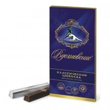 Шоколад БАБАЕВСКИЙ Вдохновение, классический, в стиках, 100 г, картонная упаковка, ББ08830