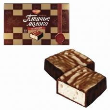 Конфеты шоколадные РОТ ФРОНТ Птичье молоко, сливочно-ванильные, 200 г, РФ09760