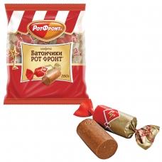 Конфеты шоколадные РОТ ФРОНТ Батончики, 250 г, пакет, РФ04274