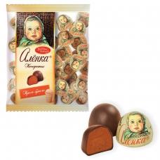 Конфеты шоколадные КРАСНЫЙ ОКТЯБРЬ Аленка, крем-брюле, купол, 250 г, пакет, КО08238