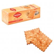 Печенье-крекер ЯШКИНО Французский, с кокосовой стружкой и кунжутом, 185 г, МГ219