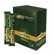 Кофе растворимый JACOBS MONARCH Якобс Монарх, сублимированный, 1,8 г, пакетик, 41933