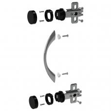Фурнитура для двери стеклянной 'Канц', 'Фея', ФС01